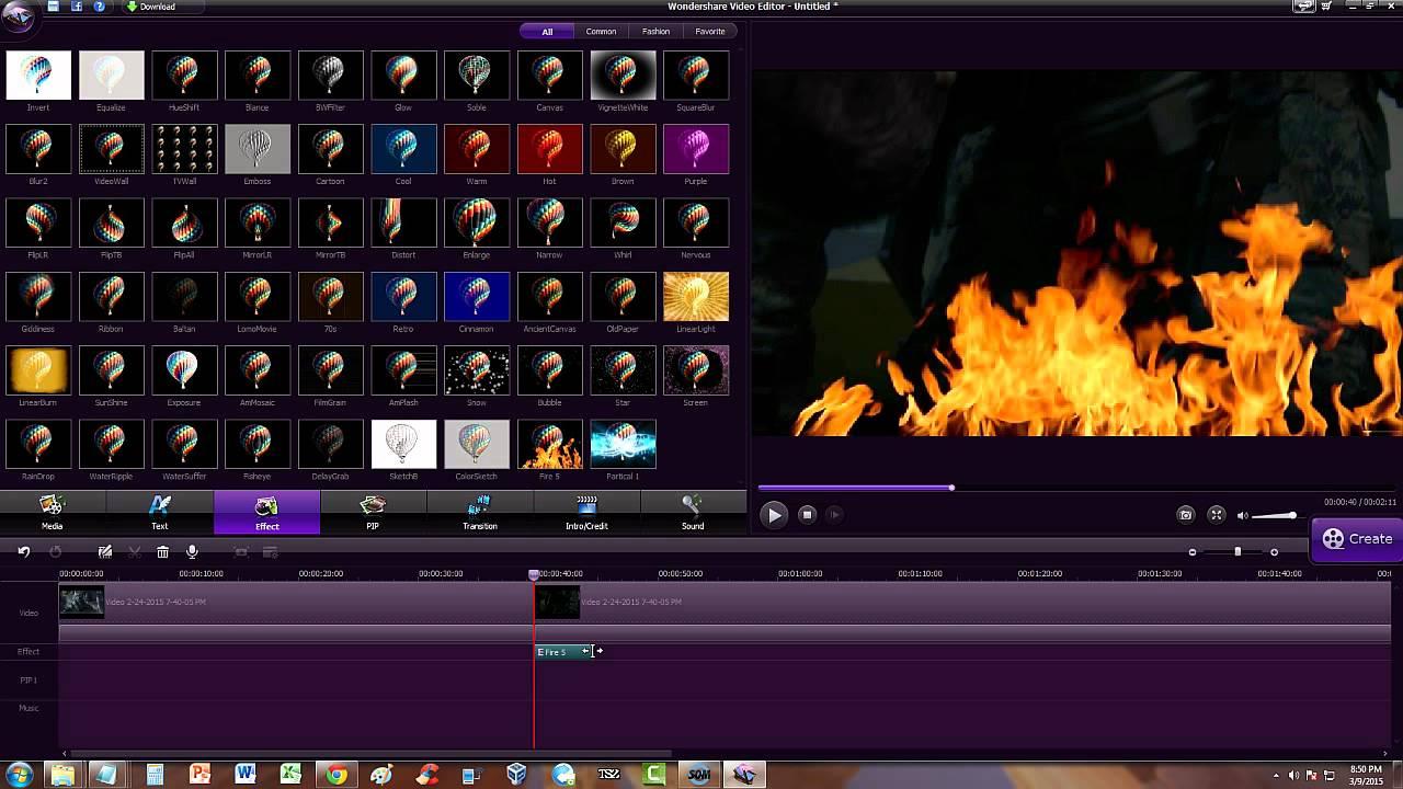 Wondershare Video Editor 846 Serial Key