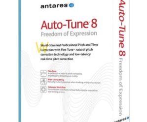 Antares AutoTune 8.1.11 Crack