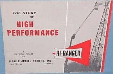 History of Hi-Ranger, Brochure from 1964
