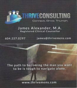 James Alexander Business Card