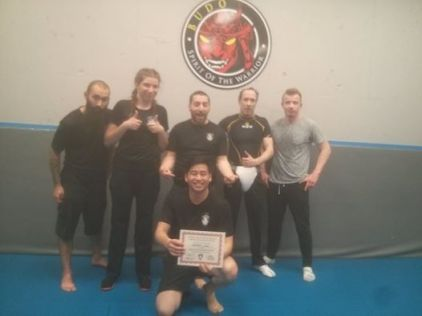 Aussie Dan gets his assistant Instructor Certificate