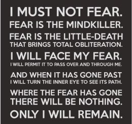 I Must Not Fear 1