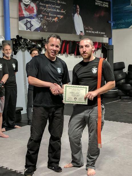 Warren Green Belt Certificate