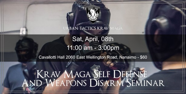 April 01 Nanaimo Krav Maga Seminar