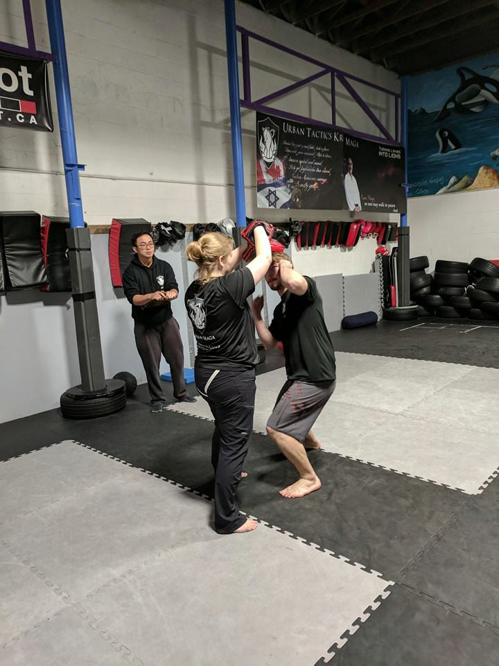 Petra Helping out yellow Belt 2