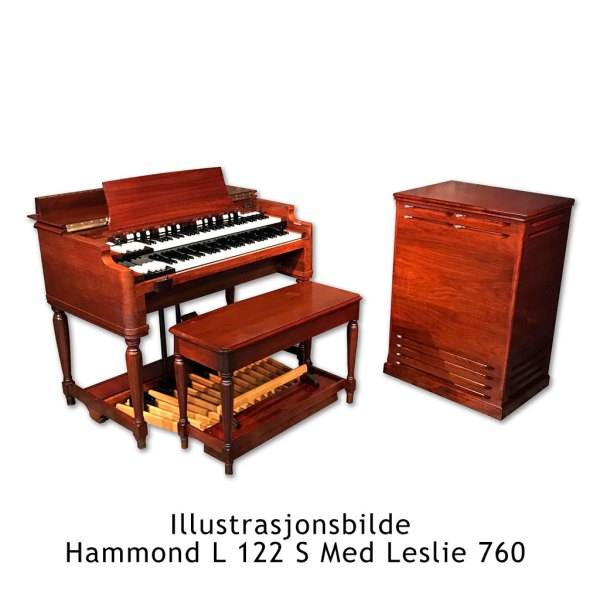 Illustrajsonsbilde Hammond L122S