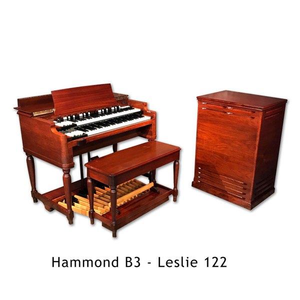 Hammond B3 med Leslie 122