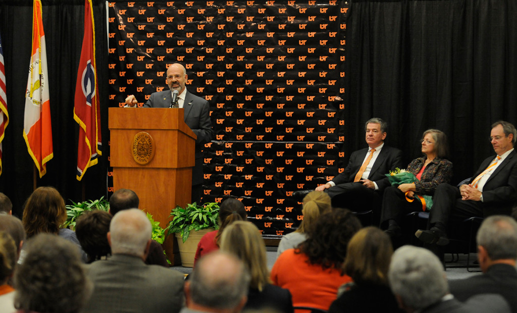 Joe DiPietro at podium