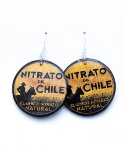 Pendientes Nitrato redondo