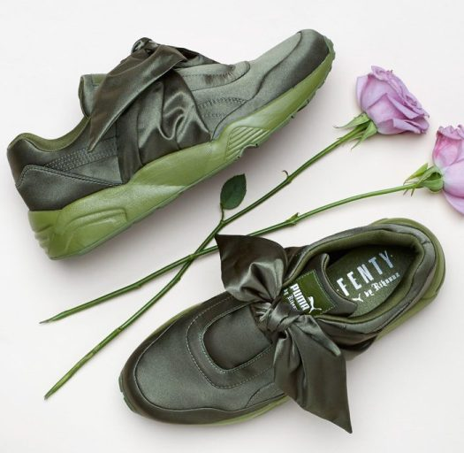 quality design 9877d 1d132 Puma Teams Up With Rihanna For Some New Footwear - NYLON ...