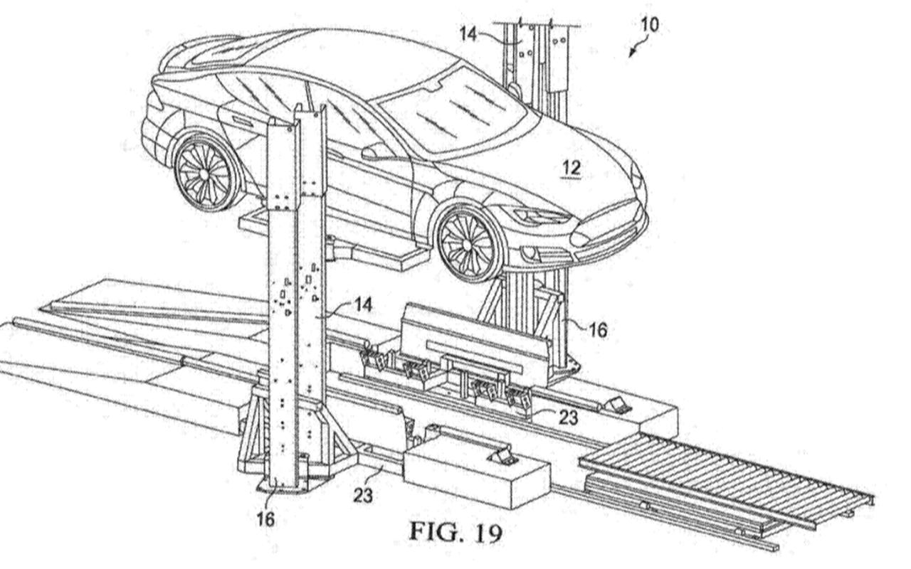 Elektroauto Problem Gelost Tesla Patentiert Anlage Fur
