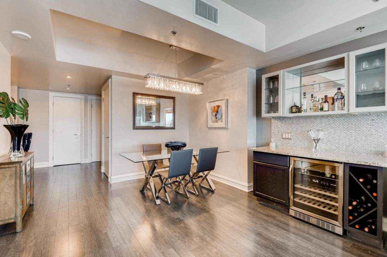 A small condo staged by Utopia Home Staging
