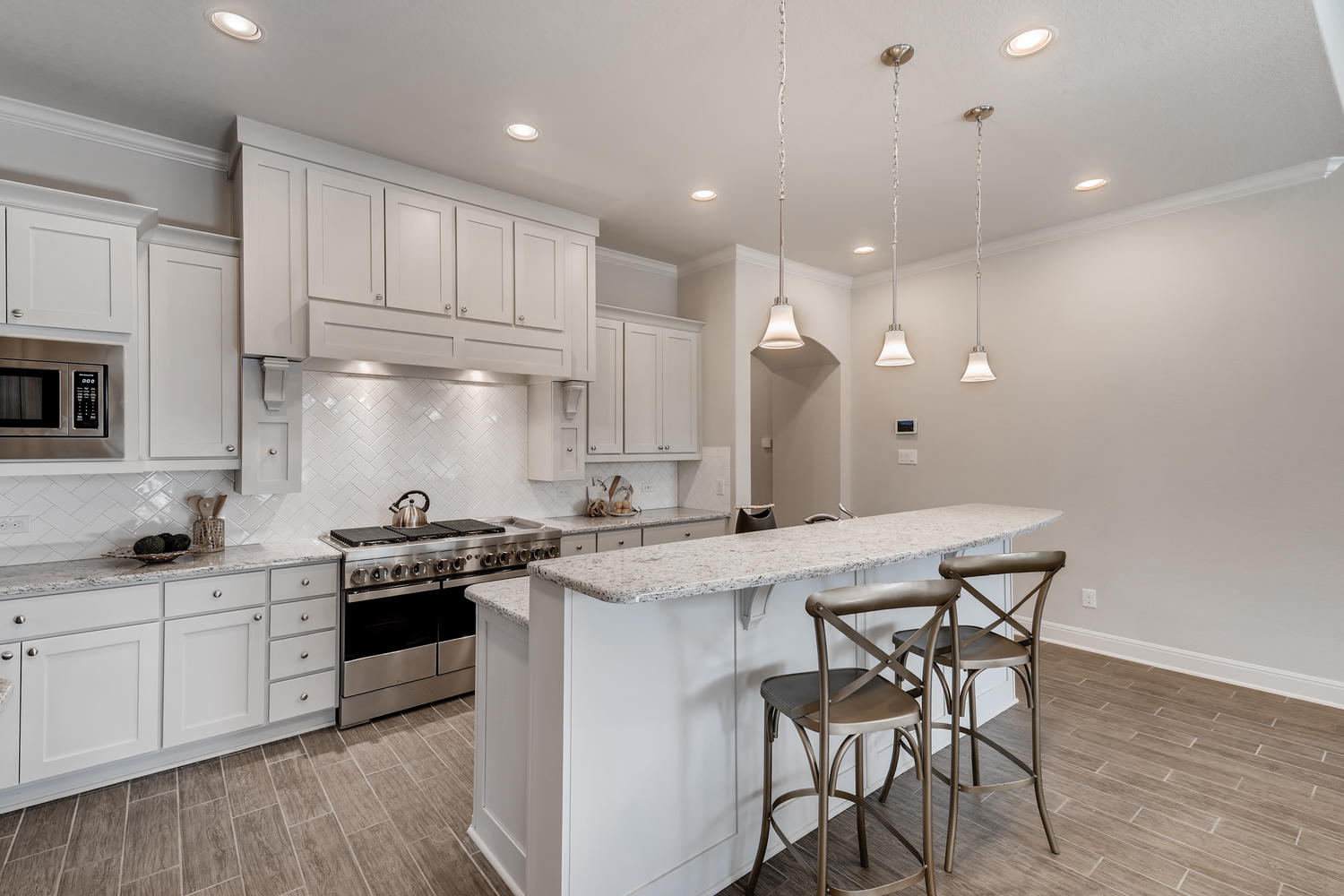 Full home staging in Las Vegas, Nevada, featuring a kitchen