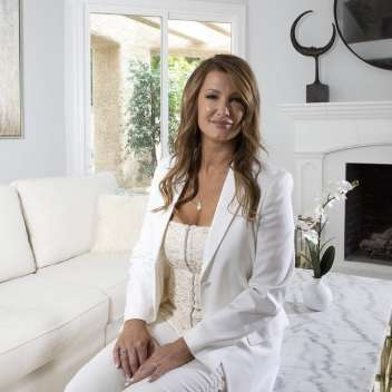 Angelic Ferguson, founder of Utopia Home Staging, luxury Las Vegas home staging company