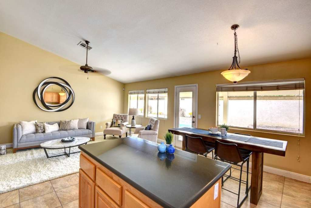 Fully Staged Home in Ventana Canyon Utopia Home Staging