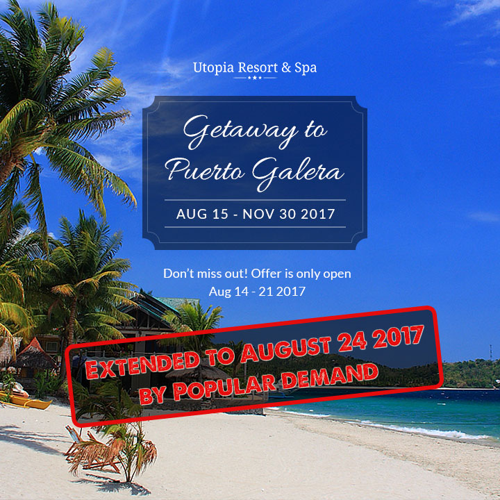 puerto galera holiday special offer extended