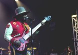 Bassist Thundercat delivers a melancholy set at Austin Music Hall on March 14, while Erykah Badu and Gaslamp Killer watch from the shadows.