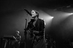 Tegan Quin serenading the crowd at Stubb's.