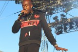 Freddie Gibbs emanates cool during his Sunday afternoon set on the Blue Stage.​