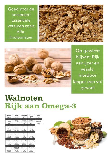 Gezondheidsfeiten walnoten