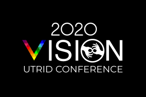 Conference Logo: 2020 VISION UTRID Conference