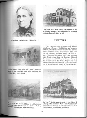 Historic Images of Boerne and Kendall County, Texas (1998) by Garland Perry. UTSA Libraries Special Collections.