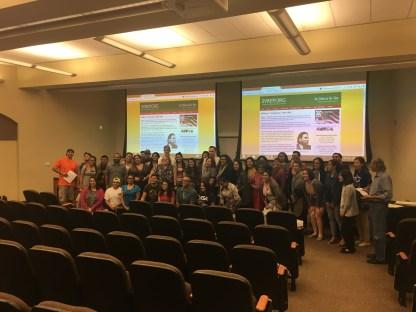 Audience at UTSA Screening