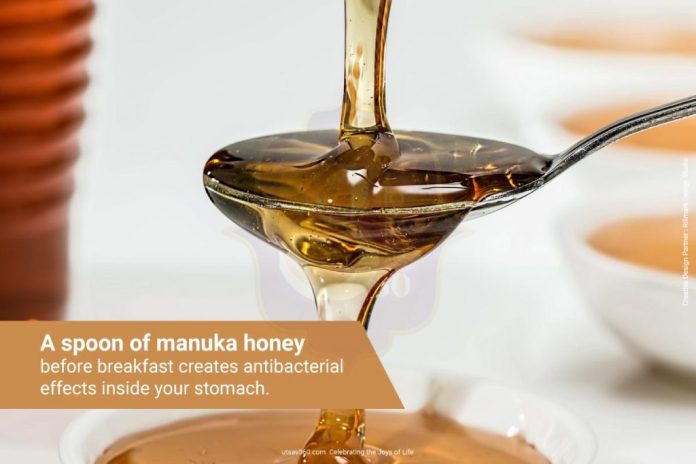 Manuka honey is one of the most effective natural remedy for almost anything!