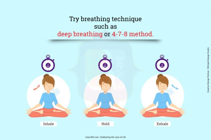 The effective 4-7-8 breathing technique