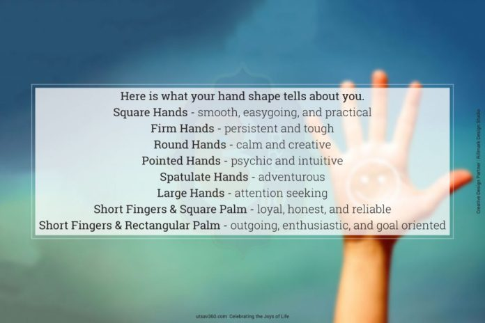 What your hand shapes tells about your personality