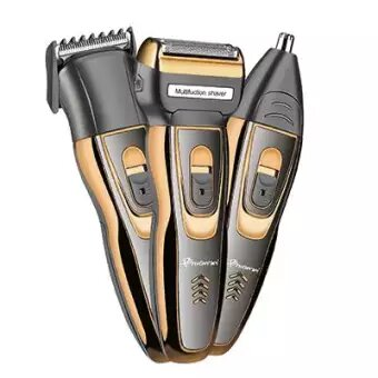 Gemei GM-595 3 In 1 Hair Clipper, Shaver & Nose Hair Trimmer