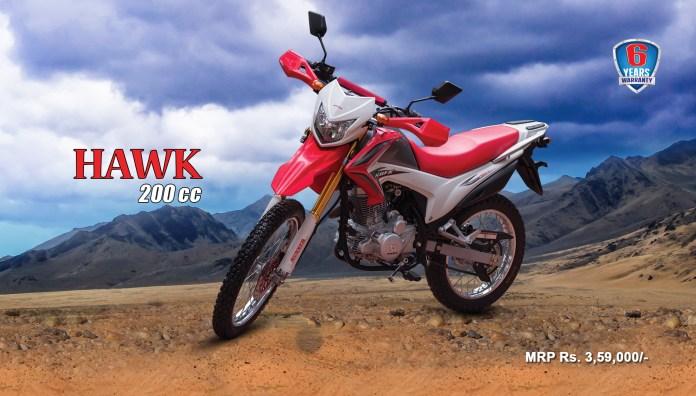 Runner Hawk 200