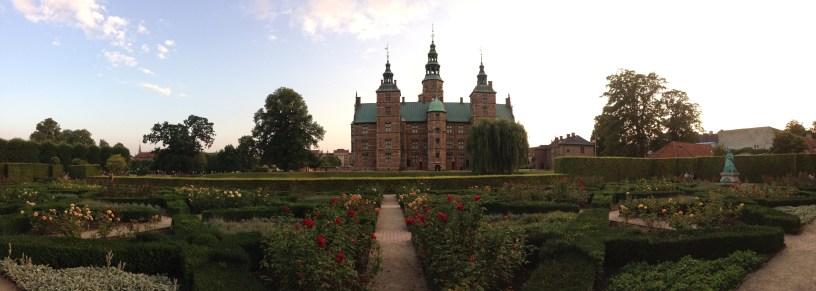 Rosenborg Castle next door