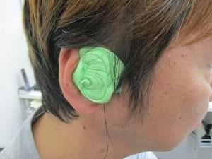 補聴器 宇都宮 耳型採取