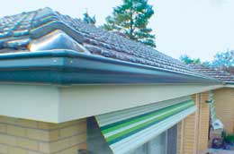 final result with guttering_cap