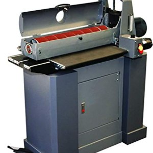 """SUPERMAX TOOLS Drum Sander with Closed Mobile Base Stand. Sands 25"""" on Single Pass and up to 50"""" with Double - Model 25-50"""