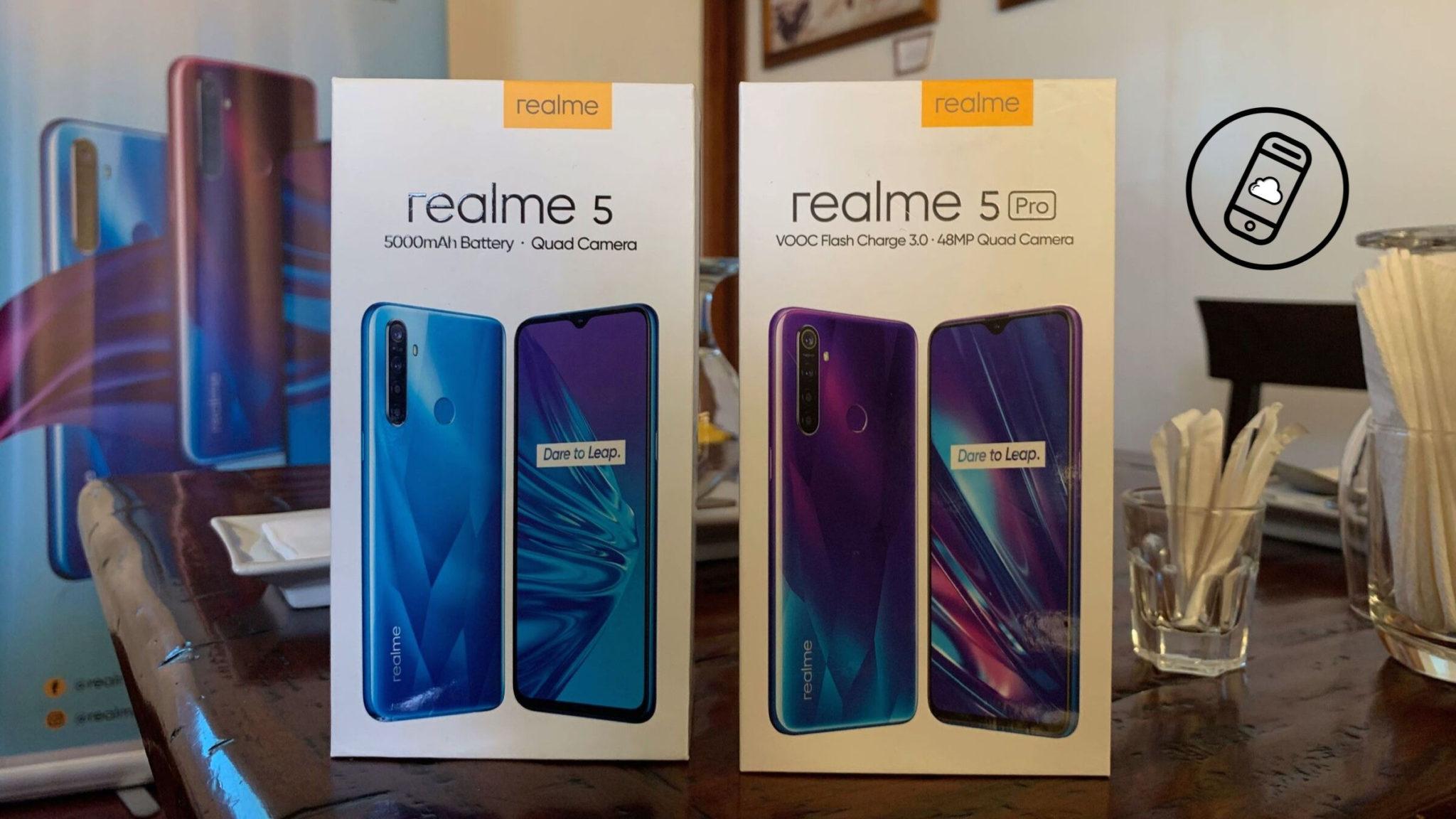Realme 5 and Realme 5 Pro Philippines Header