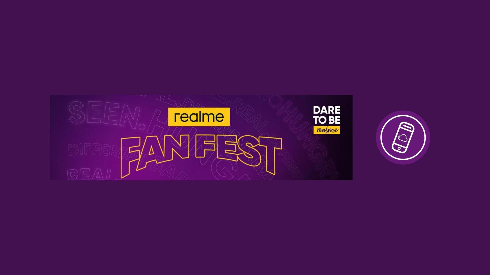 realme Fan Fest Header