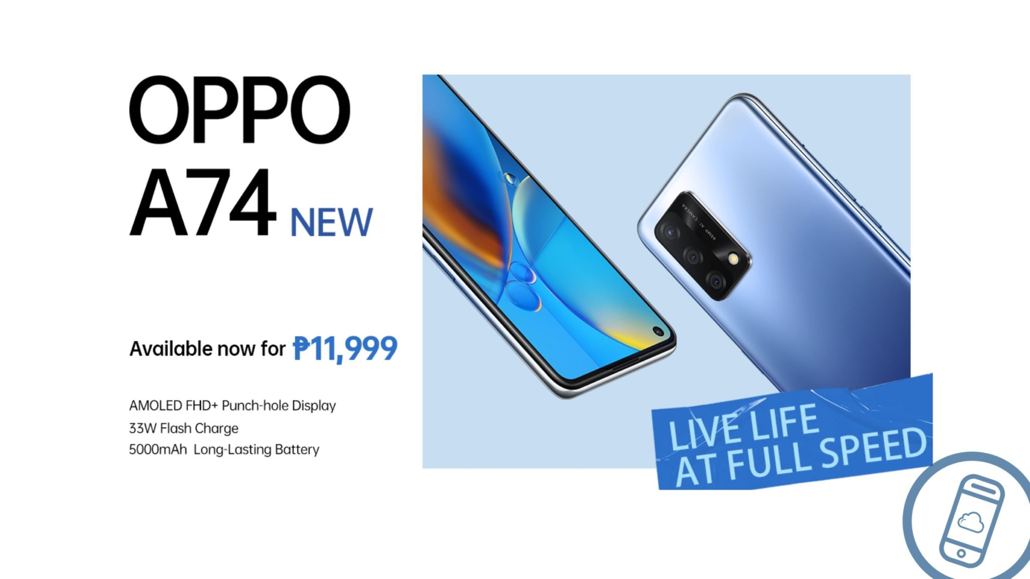 OPPO A74 Now Available in the Philippines Header