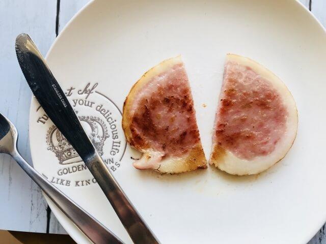ハムステーキのアイキャッチ