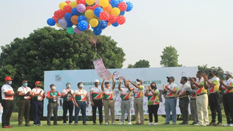 বঙ্গবন্ধু বাংলাদেশ গেমস: গলফ প্রতিযোগিতার উদ্বোধন
