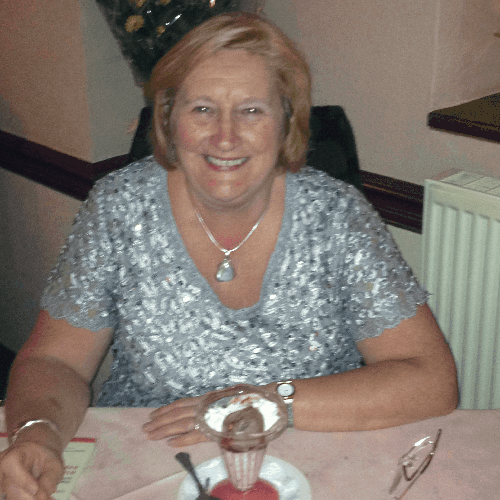 Activity staff member Sue Bloor celebrated her 60th birthday