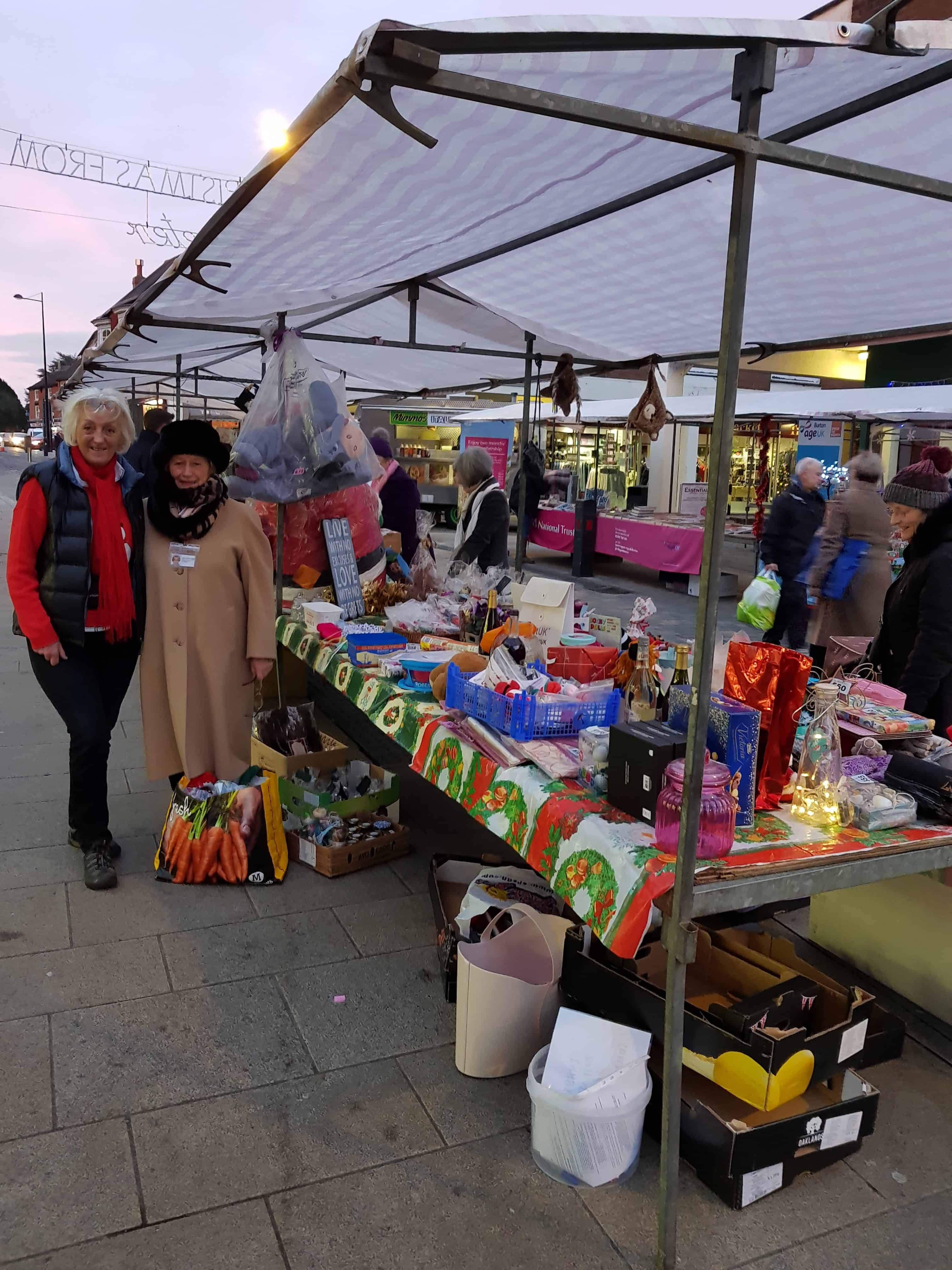 Our High Street, Uttoxeter  Saturday Stall