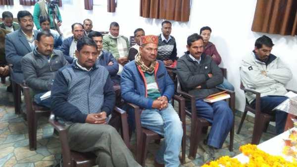 भाजपा के जिलाध्यक्ष ने मंडल अध्यक्षों के साथ की बैठक,संगठन को मजबूत बनाने के लिए किया विचार विमर्श 3