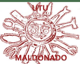 Sol creado por el pintor Páez Vilaró para la Escuela Técnica de Maldonado