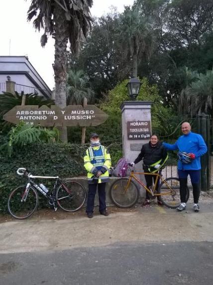 Bicicleteada al arboretum Lussich11