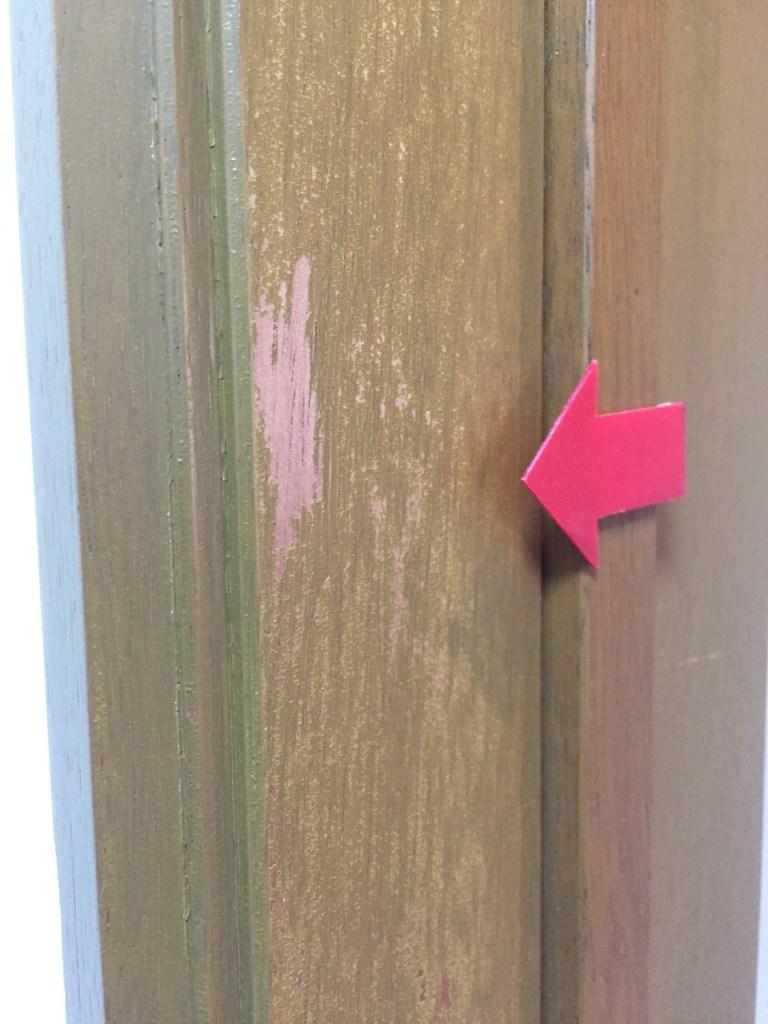 扉・ドアの木枠補修