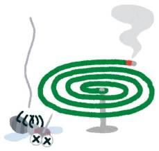 蚊取り線香 効果 範囲