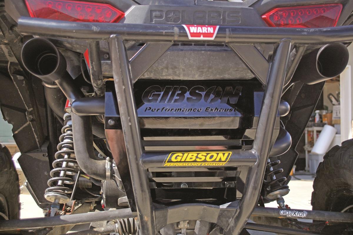 gibson rzr xp 1000 dual exhaust