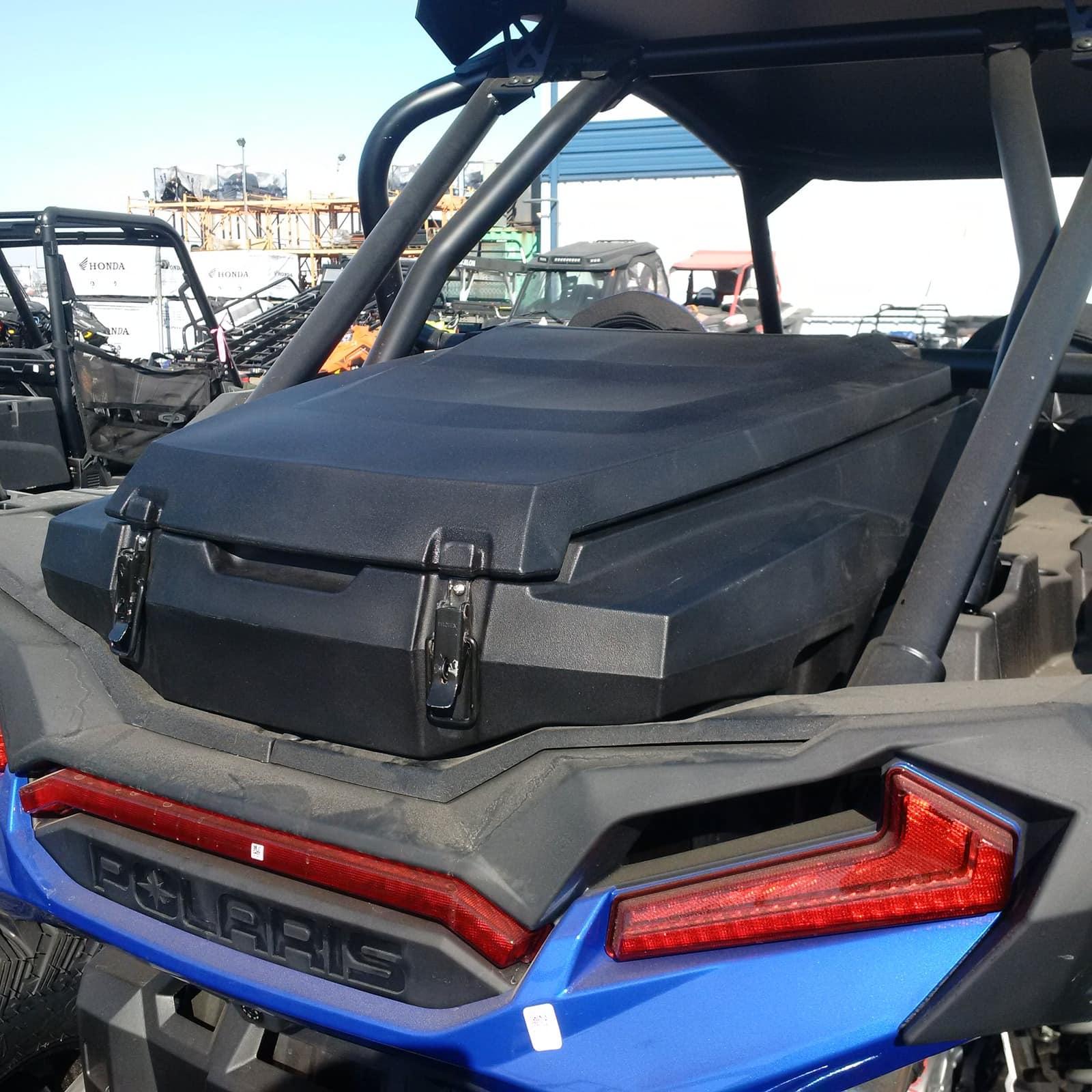 jemco rear cargo box polaris rzr xp 1000